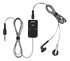 Headset: Nokia HS-45 Silver/Black In-Ear Only Headsets