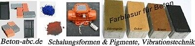 Betonfarben und Formen für Pflaster