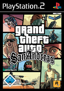 Grand Theft Auto: San Andreas (Sony PlayStation 2, 2004, DVD-Box)