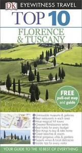 DK Eyewitness Top 10 Travel Guide: Florence & Tuscany, Bramblett, Reid | Paperba