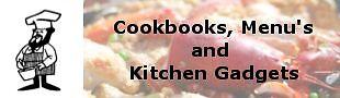 Cookbooks Menus and Kitchen Gadgets