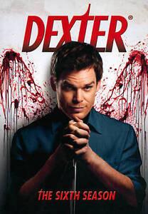 Dexter: The Sixth Season (DVD, 2012, 4-D...