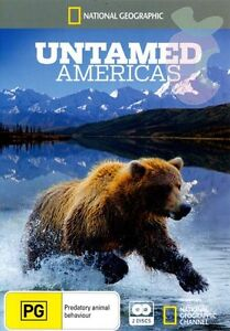 National Geographic - Untamed Americas (DVD, 2012, 2-Disc Set) Region 4  New