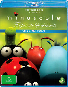 Minuscule - The Private Life Of Insects : Season 2 (Blu-ray, 2012, 2-Disc Set)
