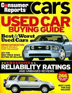 Consumer reports car buying guide 2013 magazine