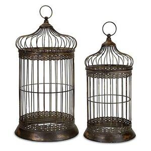 Black Decorative Bird Cage