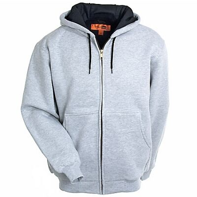 Lined Hooded Sweatshirt Jackets