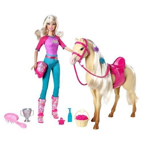 Reiten, wiehern, frisieren und Kutsche fahren: Wie das Barbie-Pferd zur Barbie-Welt gehört