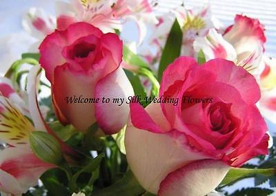 My silk Wedding Flowers