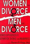 Women and Divorce - Men and Divorce, Sandra S Volgy, 1560241144