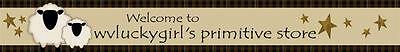 wvluckygirl's primitive store