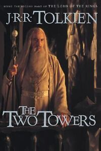 The-Two-Towers-Bk-2-by-J-R-R-Tolkien-2001-Paperback-Reprint-Movie