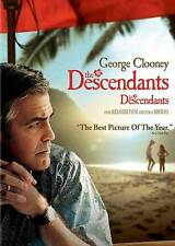 The Descendants (DVD, 2012) NEW