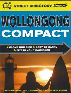 Wollongong Compact Street Directory 1st ' UBD Gregorys