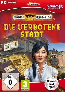 Hidden Mysteries: Die verbotene Stadt (PC, 2011, DVD-Box) - <span itemprop='availableAtOrFrom'>Leibnitz, Österreich</span> - Hidden Mysteries: Die verbotene Stadt (PC, 2011, DVD-Box) - Leibnitz, Österreich