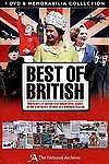 Best Of British Memorabilia Set DVD, 2012, 4-Disc Set Contains Memorbilia Pack - $12.95
