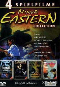 DVD NINJA EASTERN COLLECTION - 4 Filme