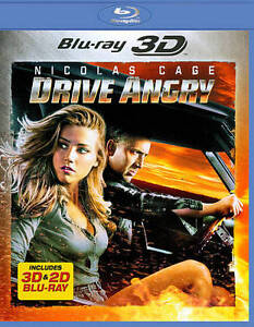 Drive Angry [Blu-ray 3D] New DVD! Ships Fast!