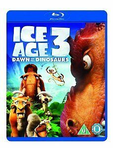 Ice Age 3 - Dawn Of The Dinosaurs (Blu-ray, 2013) Nearly new condition