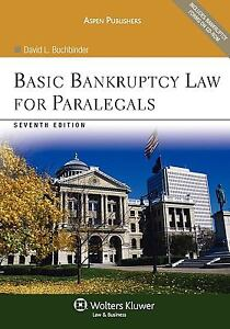 Basic-Bankruptcy-Law-for-Paralegals-7th-Edition-by-David-L-Buchbinder-new-wrap