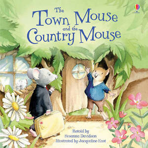 The-Town-Mouse-The-Country-Mouse-Usborne-Picture-Book-New-P-B-R-R-P-4-99