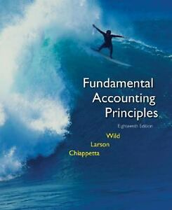 fundamental accounting principles wild table of contents