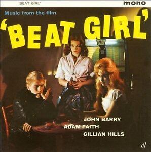 John Barry/Adam Faith - Beat Girl (Music from the Film) (2011) CD NEW SPEEDYPOST