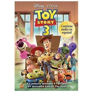 Toy Story 3 (DVD, 2010, Spanish) NEW SHIPS FREE USA