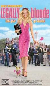LEGALLY BLONDE Reese Witherspoon DVD R4