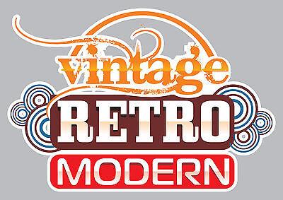 Vintage Retro Modern