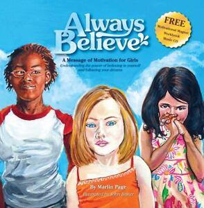 Always-Believe-Motivational-Hardcover-Book-Music-CD-Journal-amp-Magnet-for-Girls