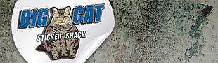 Big Cat Sticker Shack