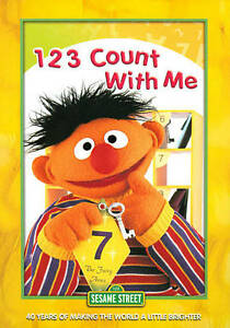sesame street 123 count with me vhs  Sesame Street: 123 C...