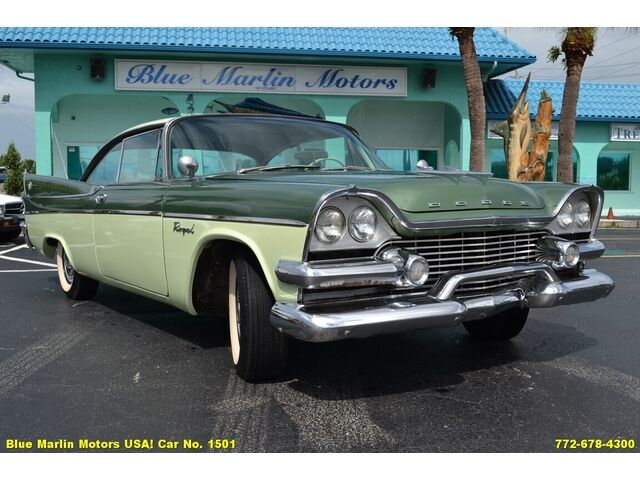 1958 Dodge Royal Lancer 2 Dr Hardtop Coupe 325ci Automatic