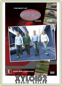 The Best Of The Car Show 2006 (DVD, 2007) Region 4 Disc