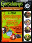 Goosebumps Official Collector's Caps Collecting Kit, R. L. Stine, 0590602659