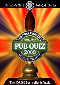 The Great British Pub Quiz 2009 [Interactive DVD], in New Condition, ,