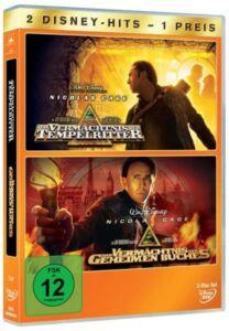 Das Vermächtnis der Tempelritter / Vermächtnis des geheimen Buches / doppel DVD