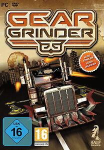 PC-Spiel-Gear-Grinder-034-Actiongeladene-Orgie-der-Zerstoerung-auf-Raedern-034