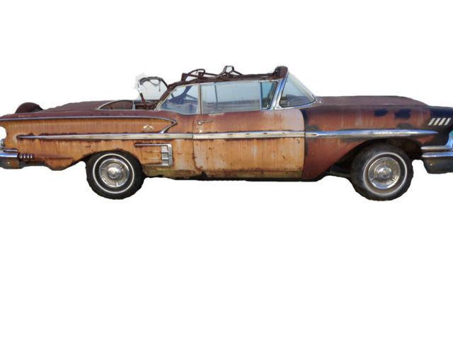 Details about 1958 Chevrolet Impala CONVERTIBLE