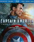 Captain America: The First Avenger Horror 3D DVDs & Blu-ray Discs