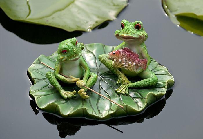 So wählen Sie ansprechende Froschfiguren für die Gartendeko aus