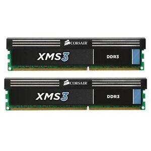 Brand New Corsair XMS3 1600MH DDR3 RAM - 2 x 4GB.