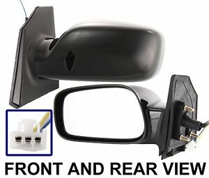 toyota corolla le s new diver side view mirror power 2004 2005 2006 2007 2008 ebay. Black Bedroom Furniture Sets. Home Design Ideas