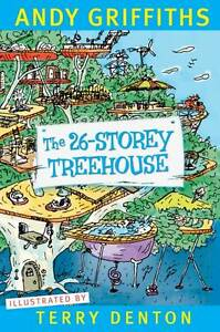 The 26-Storey Treehouse By Andy Griffiths - New