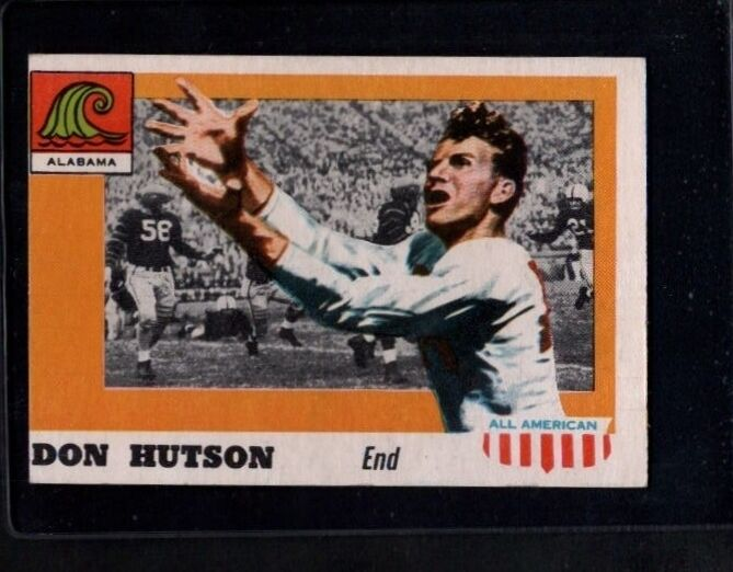 817668dd9 1955 Topps Don Hutson  97 Football Card for sale online