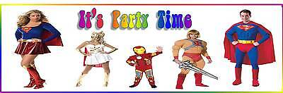 Its Party Time Fancy Dress