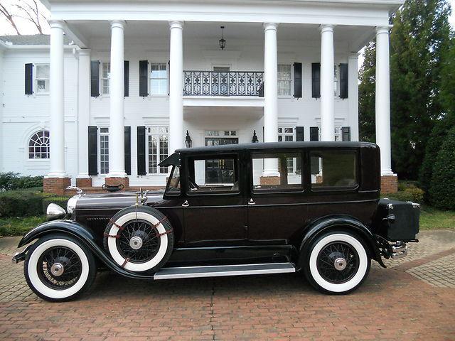 1928 LINCOLN DIETRICH 'L' MODEL 7 PASSENGER LIMOUSINE, ALUMINUM BODY, AMAZING!
