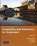 Probability and Statistics for Engineers, Richard A. Johnson and Irwin Miller, 0321694988