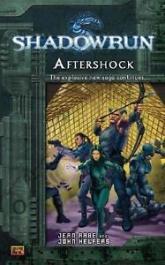 Shadowrun #5: Aftershock A Shadowrun Novel, Helfers, John, Rabe, Jean, New Book